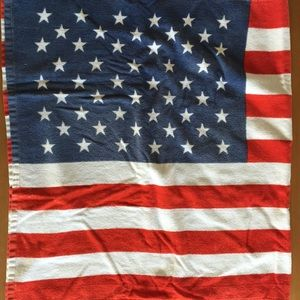 Other - American flag towel